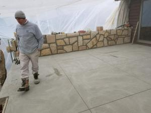 Poured Concrete Deck